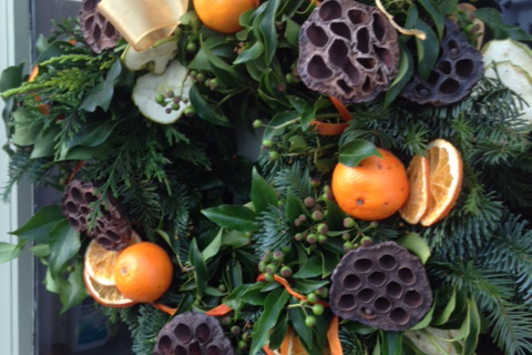 Christmas Wreath Making: Classic