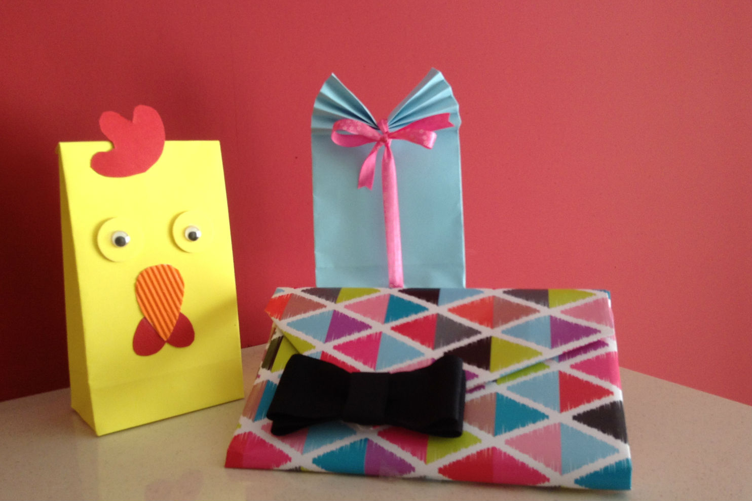 Make you own gift bags and wallets