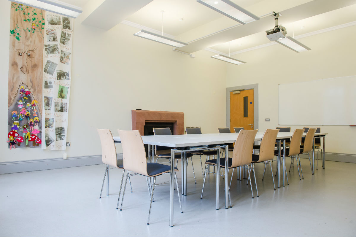 hire workshop space at the crescent belfast